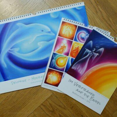 Delphin-Engel-Kalender