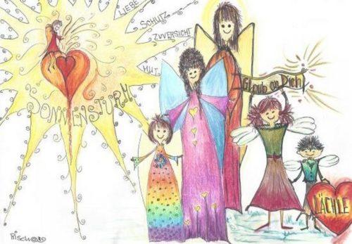 Gute-Laune-Engel-Teilnehmer
